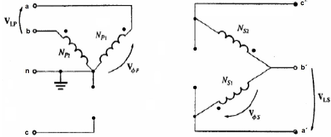 conexiones especiales de los transformadores trif u00c1sicos