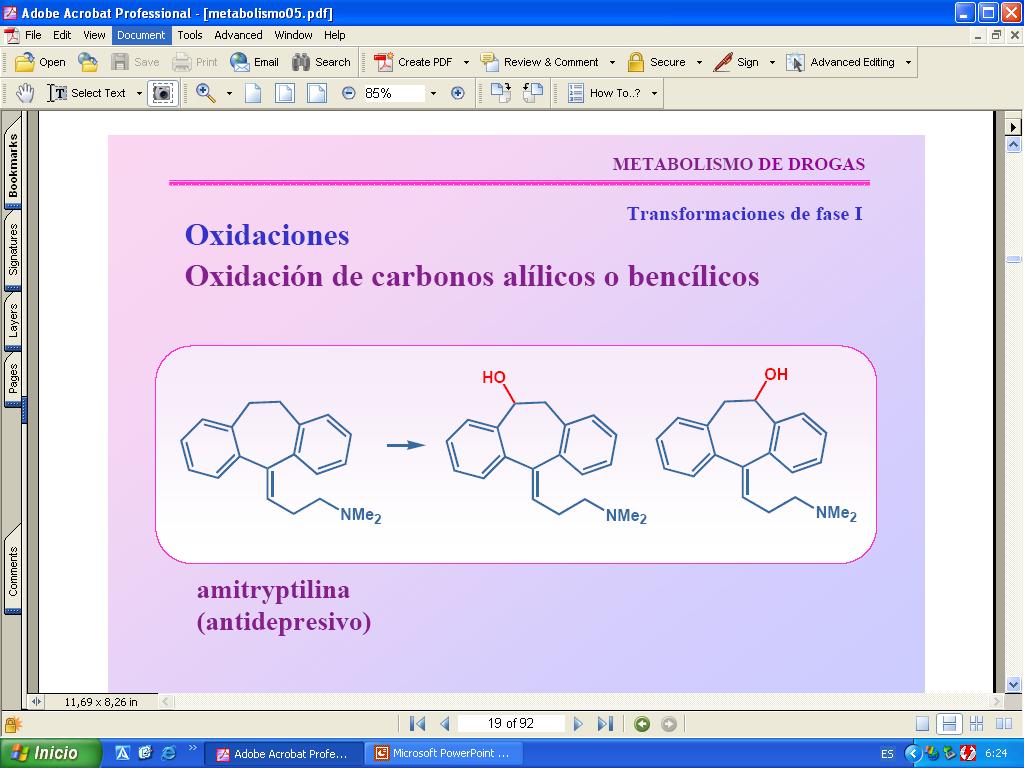 Metabolismo de xenobioticos primera parte